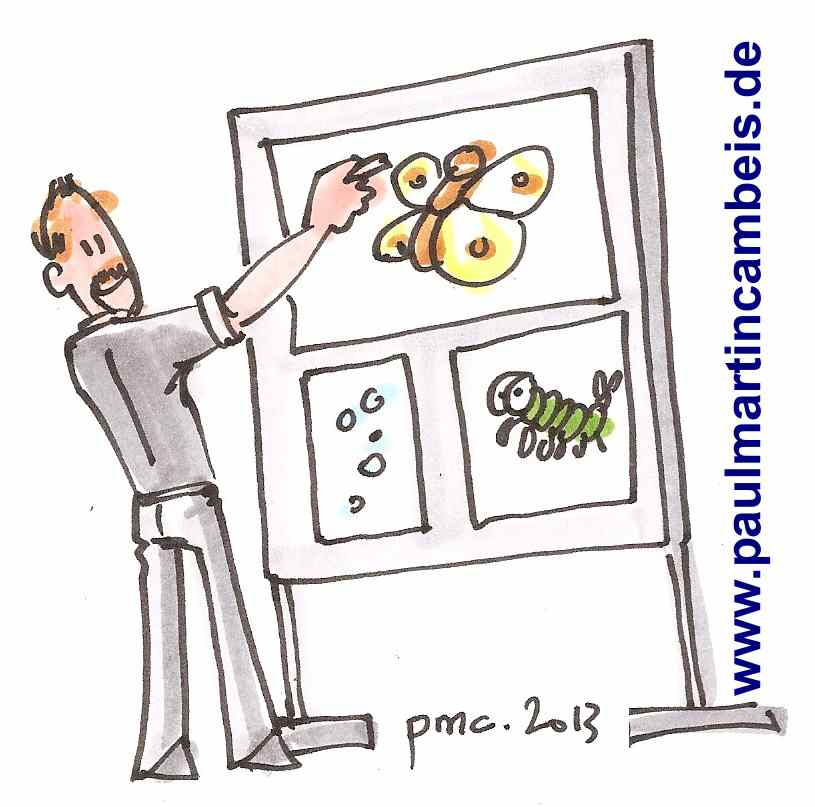 11 - Graphic Recording mit Martin Cambeis_life Illustrierung von Workshops