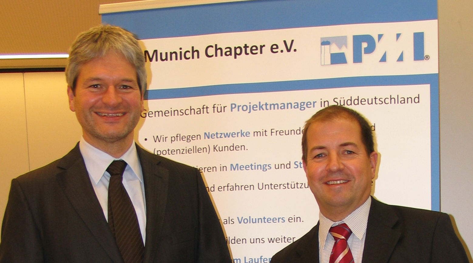 Hans-Peter Wellke_Jens Liebold_PMI Munich Chapter
