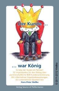b2b-Kundenorientierung_Kunde König_von Hans-Peter Wellke