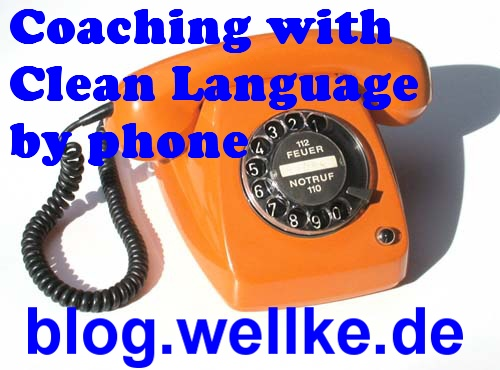 phone coaching using clean language_telefonisches Coaching mit Clean Language