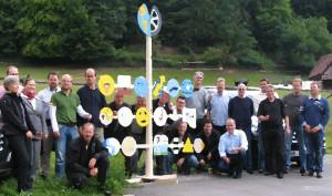 Teamentwicklungsprozess mit Maibaumbau mit Hans-Peter Wellke und Josef Kohl