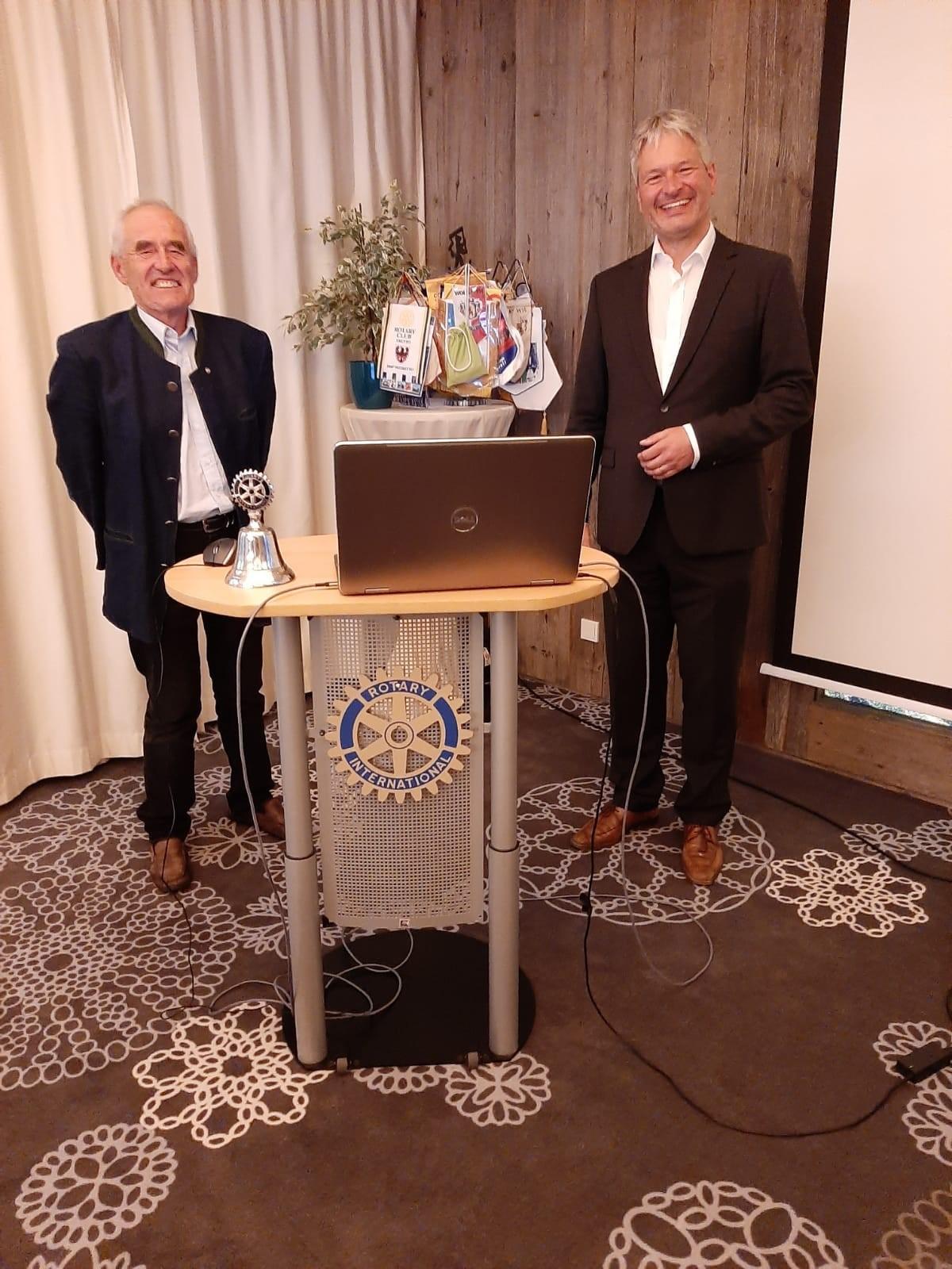 Vortrag für Rotary Kempten: Die Coachingmethode Clean Language